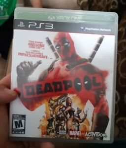 Deadpool PS3 game for sale
