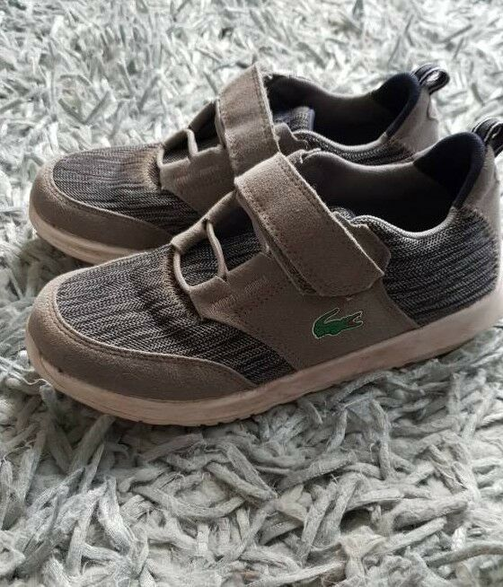 8979fa1a768c Lacoste kids trainers size 1