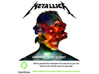 Metallica Tickets -- Read the ad description before replying!!