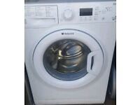 """""""CHEAP AS CHIPS""""FREE DELIVERY HOTPOINT 9KG LOAD 1600 SPIN SUPERCLEAN SERVICED AS NEW £124.97 !!!"""