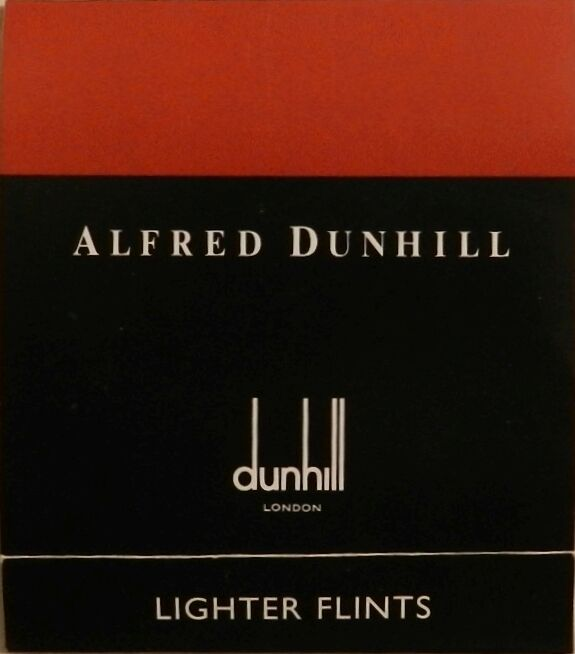Dunhill Rollagas Lighter Flints Red New Wallet of 9 Genuine - US Seller