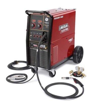 Lincoln Power Mig 256 Welder 208230160 K3068-1