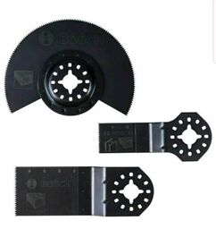 BOSCH GOP PMF Multi Tool BLADE SET (3 Blades-) 2608662343 3165140779654