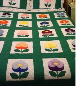 Offers? New QUEEN/DOUBLE QUILT also PAINTINGS:  Quilt & Shams HA