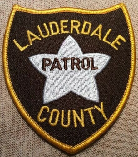 MS Lauderdale County Mississippi Patrol Patch