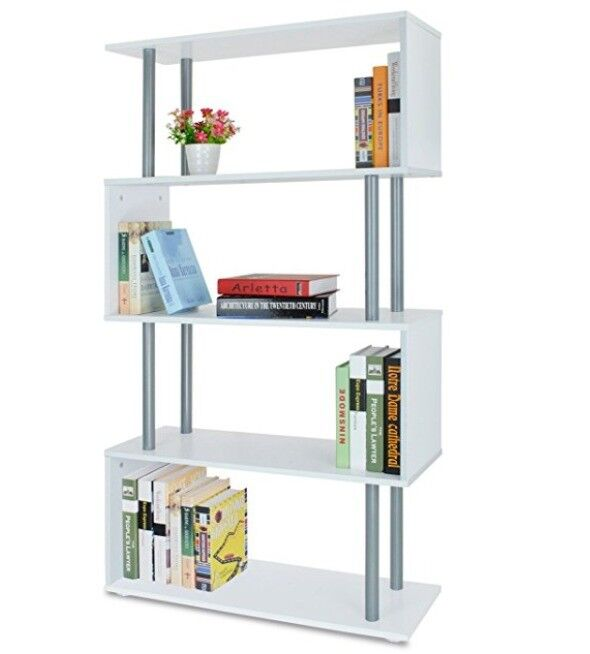 S shaped display cabinet/bookshelf