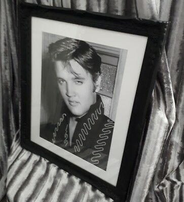 Stunning Elvis - Hand Beaded inspired picture - A3 beaded print only