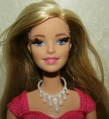Barbie In The Dream House Articulated Redressed Doll With Rooted Eyelashes EUC