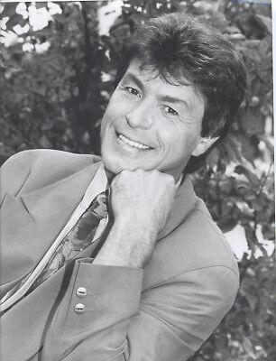 Foto deutscher Sänger FREDDY BRECK - Vintage von 1992 - SW Pressefoto - Schlager