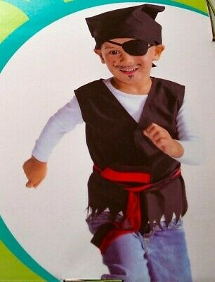 Pirat Kostüm Piratenkostüm Jungenkostüm Karnevalkostüm 104-110 NEU