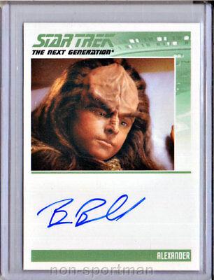 Complete Star Trek Tng Brian Bonsall Autograph