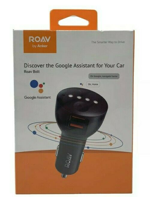 Roav by Anker Google Assistant Roav Bolt for Car Adapter R5360 NEWFACTORY SEALED