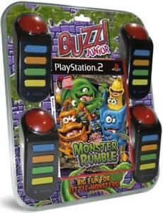 NEW UNOPENED PLAYSTATION 2 BUZZ JUNIOR JUNGLE PARTY
