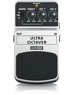 Behringer UO300 Ultra Octaver Guitar Effects Pedal / Stomp Box
