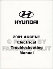 2001 Hyundai Accent Electrical Troubleshooting Manual