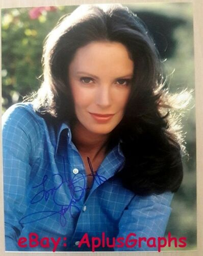 JACLYN SMITH.. Charlie's Angels Beauty - SIGNED 11x14