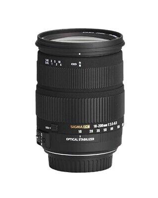 Usado, Sigma 18-200mm f/3.5-6.3 DC OS Canon EF-S Fit Lens segunda mano  Embacar hacia Spain
