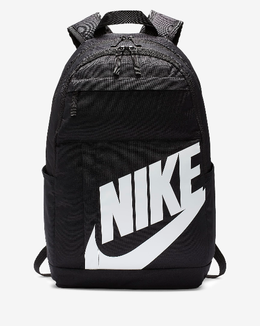 ZAINO NIKE BA5876-082 ZAINETTO BACKPACK UNISEX ORIGINALE NERO BLACK SCUOLA TEMPO