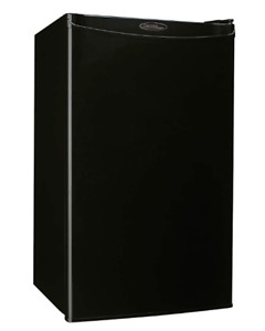 Danby Designer Mini Fridge & Freezer, 3.2 CuFt., Black