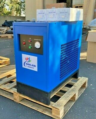 New 75 Cfm Refrigerated Compressed Air Dryer 20hp Compressor 220v Cooler Depot