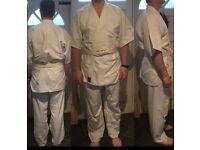 Men's karate/ aikido gi outfit