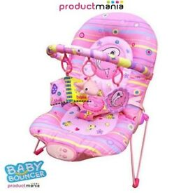 baby pink dolphin swing chair