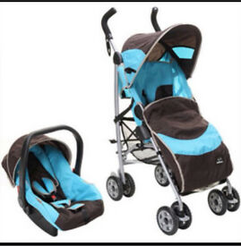 Graco travel system blue