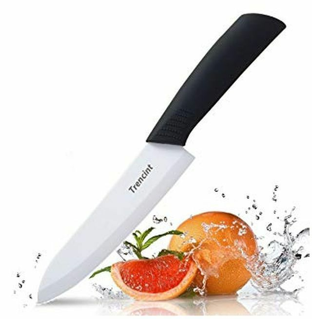Trencint 6-inch Ceramic Chef's Knife with Ergonomic Non-Sl