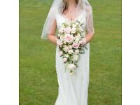 Beautiful Ivory Ellis Wedding Dress for Sale!!!