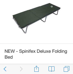 SPINIFEX DELUXE FOLDING BED/STRETCHER Doreen Nillumbik Area Preview