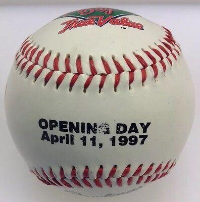 Pittsburgh Pirates Team Logo Ball (Rawlings Pittsburgh Pirates Team Logo Ball MLB Baseball Opening Day 4/11/97 1997 )