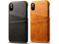 iPhone X leather case, iPhone 7,8, 7 plus, 8 plus Benad New with card holder