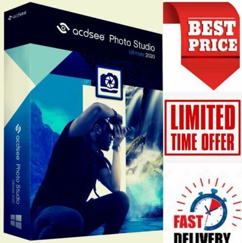 ACDSee Photo Studio Ultimate 2020 ✅ Lifetime Activation ✅ Fast delivery ✅