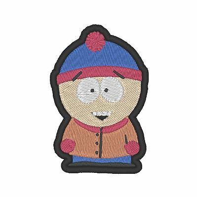 South Park Stan Cosplay (E0134 GAME - COSPLAY - TV PATCH - SOUTH PARK STAN EMBROIDERED PATCH)