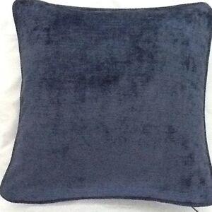 2-X-16-Inch-Cushions-And-Inners-In-Laura-Ashley-Villandry-Midnight-Velvet-Fabric