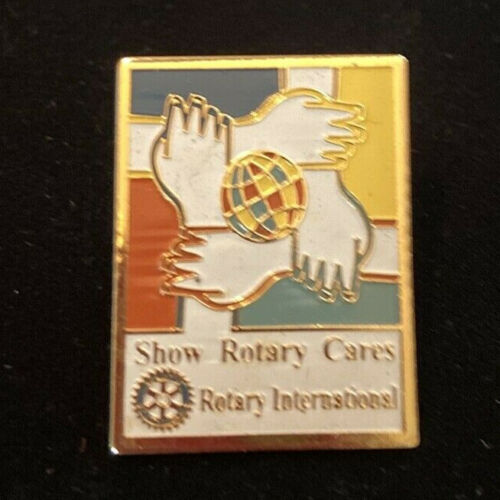 Rotary International Pin SHOW ROTARY CARES 1997-98 Theme