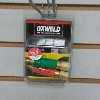 Esab 0558002695 Flash Arrestor Oxyfuel Gas Oxweld