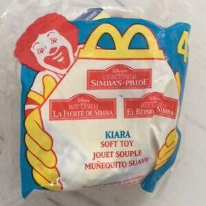 McDonald's Happy Meal Toy Disney The Lion King Kiara #4 1998 New In Package
