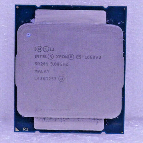 CM8064401909200 INTEL XEON PROCESSOR E5-1660V3 3.00GHZ 20M 8CORES 140W R2
