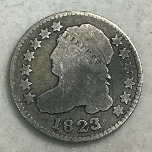 1823 Capped Bust Dime G-VG