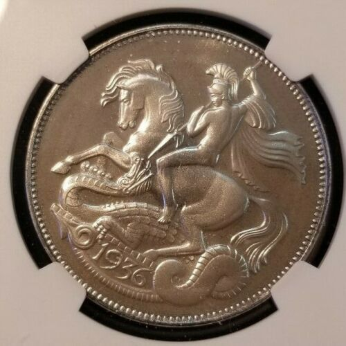 1936 DATED GREAT BRITAIN SILVER CROWN EDWARD VIII NGC MS 67 SCARCE 1987 ISSUE