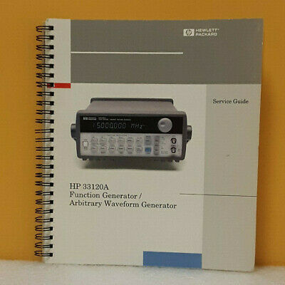Hp 33120-90014 33120a Function Generatorarbitrary Waveform Generator Guide