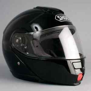 SHOEI NEOTEC Large black modular helmet w/ Integrated Bluetooth