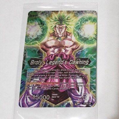 Dragon Ball Z: Broly – Legendary Super Saiyan (2018) PR P-068 Sealed New Card