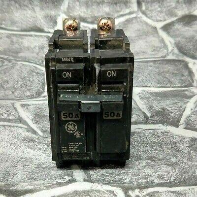 NEW General Electric THQB2150 2p 50a 120//240v Circuit Breaker Lot of 10