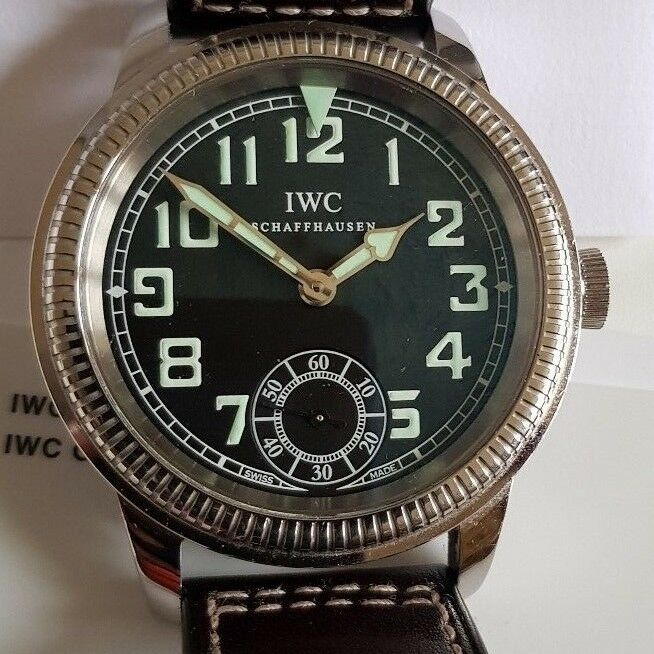 IWC Vintage Collection Pilot Hand-wound Men's Watch IW325401 - watch picture 1