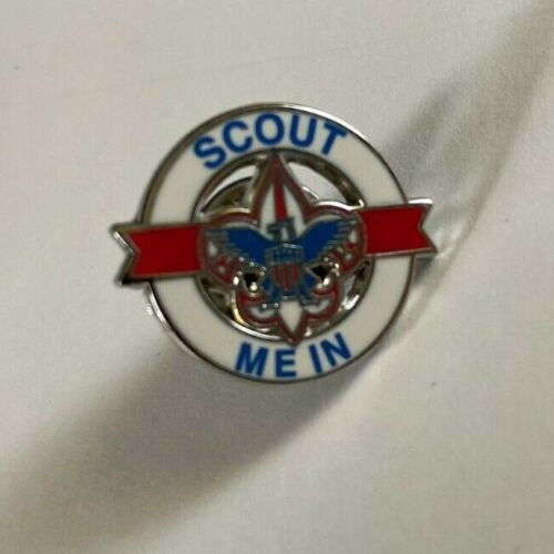 Boy Scouts of America Scout Me In Pin BSA