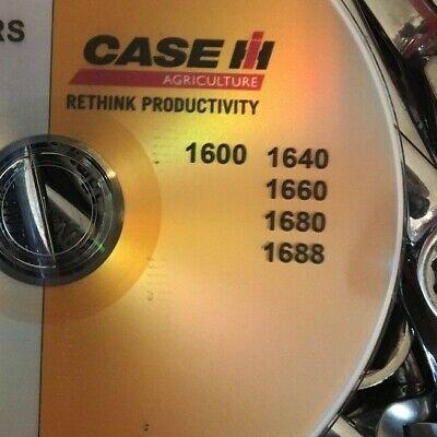 Case Ih 1600 Combine Tractor Engine Service Repair Manual D-358 6-590 6-830 Cd