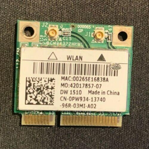Dell Broadcom Wireless Wifi Card DW1510 CN-0PW934 BCM94322HM8L