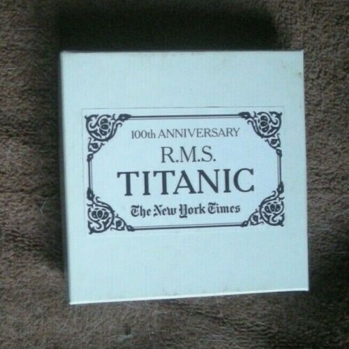 RMS Titanic 100th Aniv. Compass/ 2012 /Polished Brass Collectible!Lovely Gift!